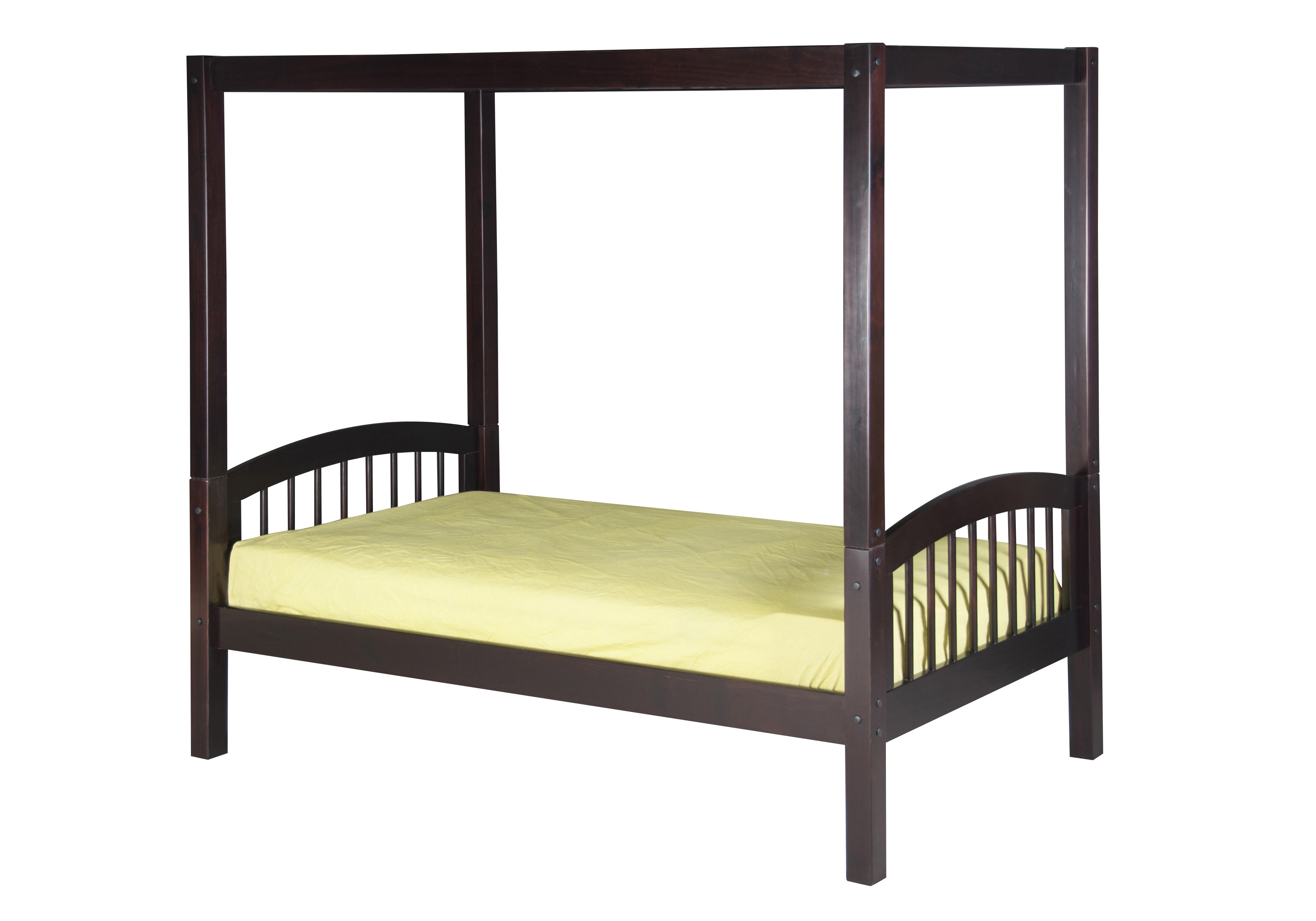 Viv + Rae Isabelle Twin Canopy Bed | Wayfair