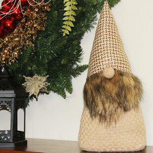 Christmas Gnome Decor.The Holiday Aisle Christmas Morning Gnome With Fair Isle Cap
