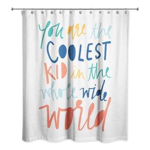 Kids Shower Curtain Girl