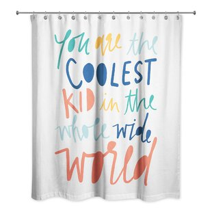 Kids Shower Curtain Boys