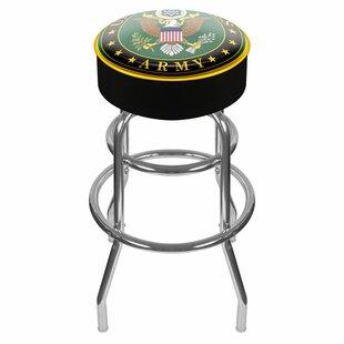 U.S. Army 31 Swivel Bar Stool