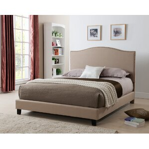 Brittany Upholstered Platform Bed by L..