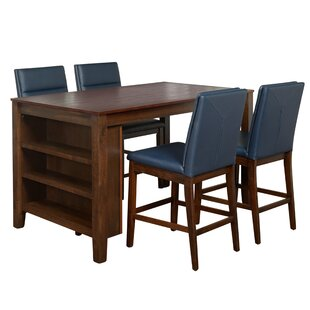 Manawa 5 Piece Pub Table Set