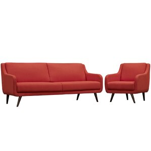 Modway Verve 2 Piece Living Room Set