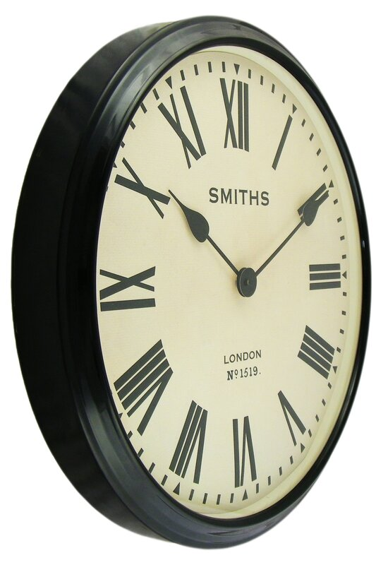 Roger Lascelles Clocks Smiths 50cm Wall Clock Amp Reviews