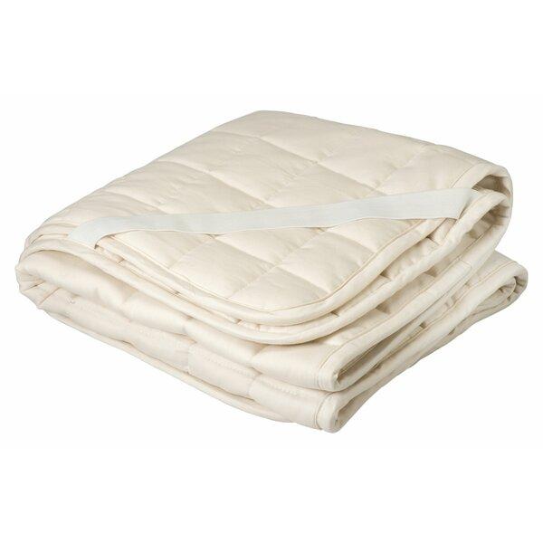 Greenbuds Organic Cotton And Wool Filled Crib Mattress Topper Puddle