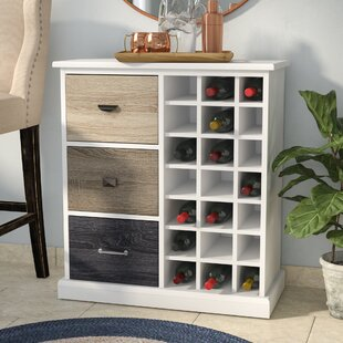 Kinnear 21 Bottle Floor Wine Cabinet