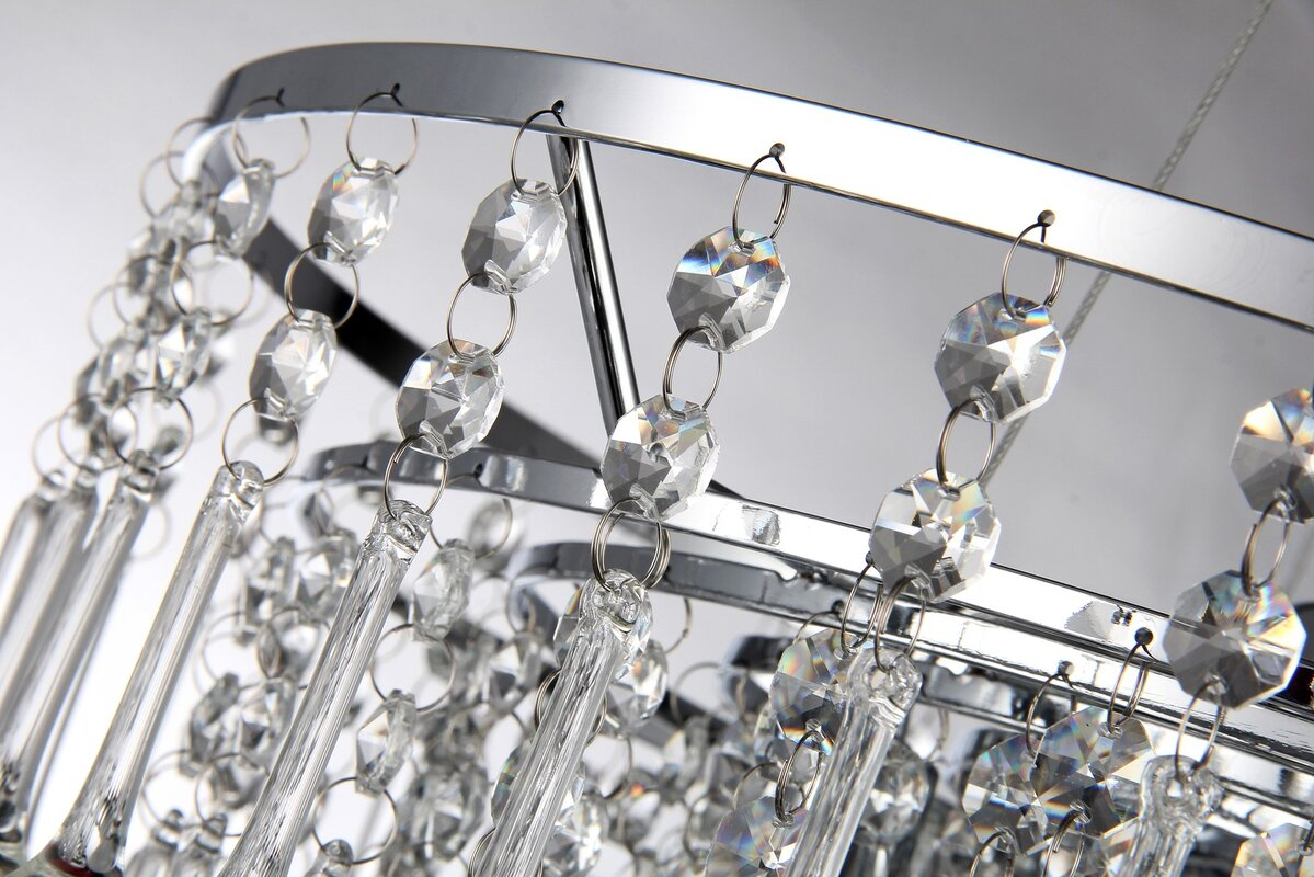 House of hampton hera 5 light crystal chandelier reviews wayfair hera 5 light crystal chandelier arubaitofo Gallery