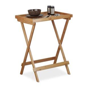 Bamboo Folding Side Table