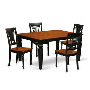Armadillo 5 Piece Dining Set by Darby Home Co