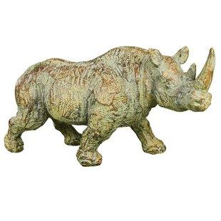 Rhino Statue | Wayfair