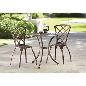 Hearst 3 Piece Bistro Set