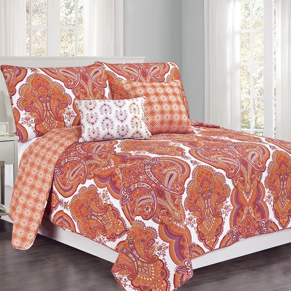set quilt guidings co paisley comforter king