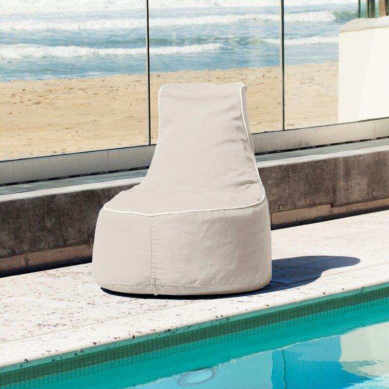 Sunbrella Bean Bag Chair - Hip Chik Chairs Sunbrella Bean Bag Chair & Reviews Wayfair