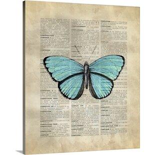 leftbank art butterfly wayfair