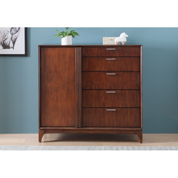 Kitchen Cabinets Bronx Ny: Ivy Bronx Caitlin Door 5 Drawer Chest & Reviews