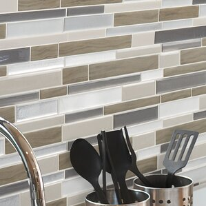 Mosaik Milano Argento Dual Finish 11 55 X 9 63 Peel Stick Mosaic Tile In