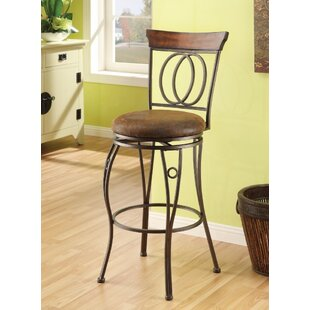 Barton Hill Swivel Bar Stool (Set of 2)