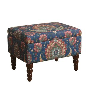 Chirala Rectangular Storage Ottoman by Bungalow Rose