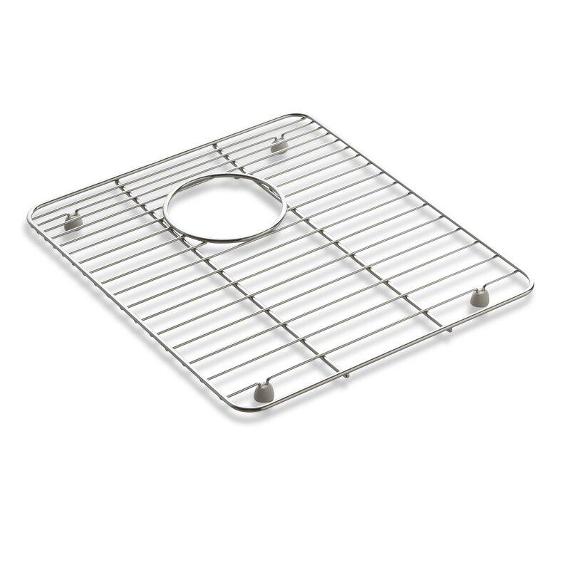 Anthem Kitchen And Bar: K-6157-ST Kohler Anthem Stainless Steel Sink Rack, 12-3/16