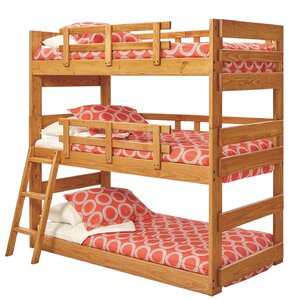 Pictures Of Bunk Bed triple bunk beds you'll love | wayfair