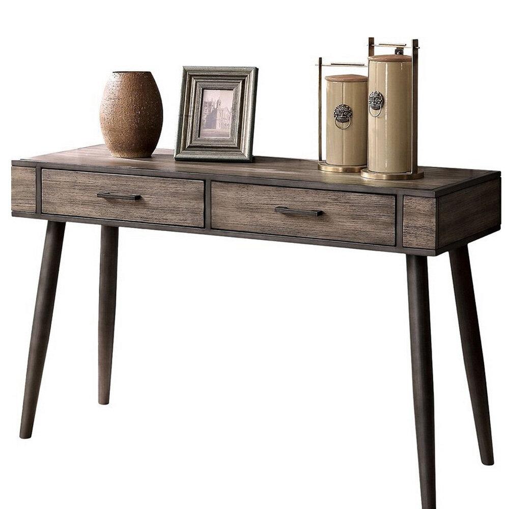 Zetilla mid century modern console table allmodern