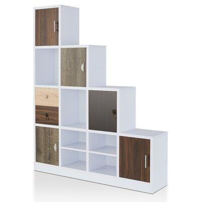 Brayden Studio Adriane Step Bookcase