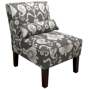 Ivy Bronx Cadence Ikat Slipper Chair
