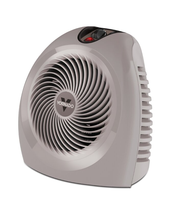 Portable Fan Heaters For Home : Vornado watt portable electric fan heater with
