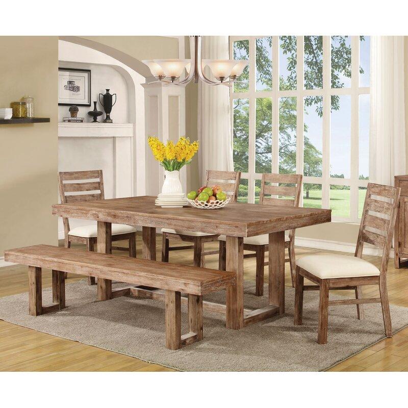 Wonderful Hollingshead 6 Piece Dining Table Set