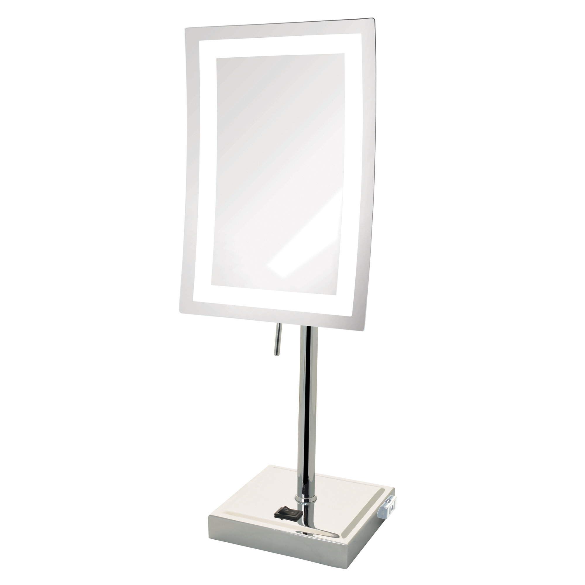Brayden studio 5x magnified lighted tabletop rectangular mirror brayden studio 5x magnified lighted tabletop rectangular mirror reviews wayfair aloadofball Image collections