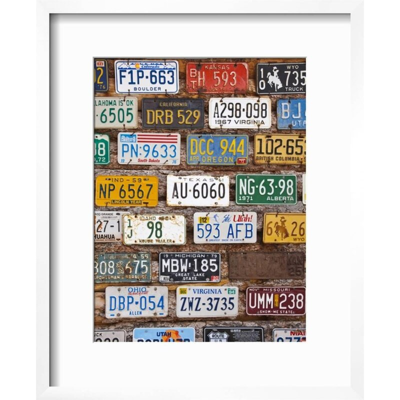 Ebern Designs \'Hole in the Rock Tourist Shop With Old License Plates ...