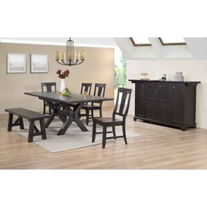 Rum Point 6 Piece Dining Set by ECI Furni..
