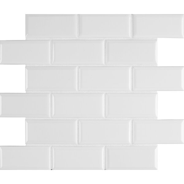 Msi Frost Bevel 2 X 4 Ceramic Subway In White Reviews Wayfair