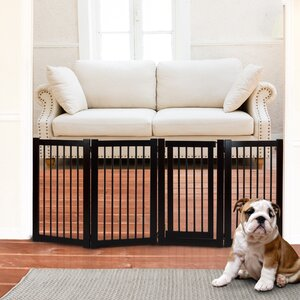 Free Standing Pet Gate with Door