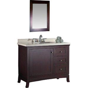 anzell 42 single bathroom vanity set