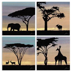 Well-known African Safari Wall Art | Wayfair DU85