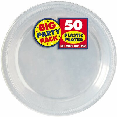 Big Party Pack Round Plastic Dinner Plate (Set of 100)  sc 1 st  Wayfair & Chef Handler Imperial Plastic Dinner Plate | Wayfair
