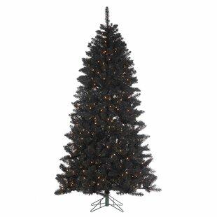 7 Foot Black Pre Lit Christmas Trees You Ll Love In 2019 Wayfair