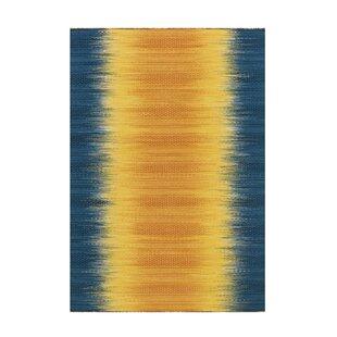 Teppiche In Blau Farbe Gelb Gold Zum Verlieben Wayfair De