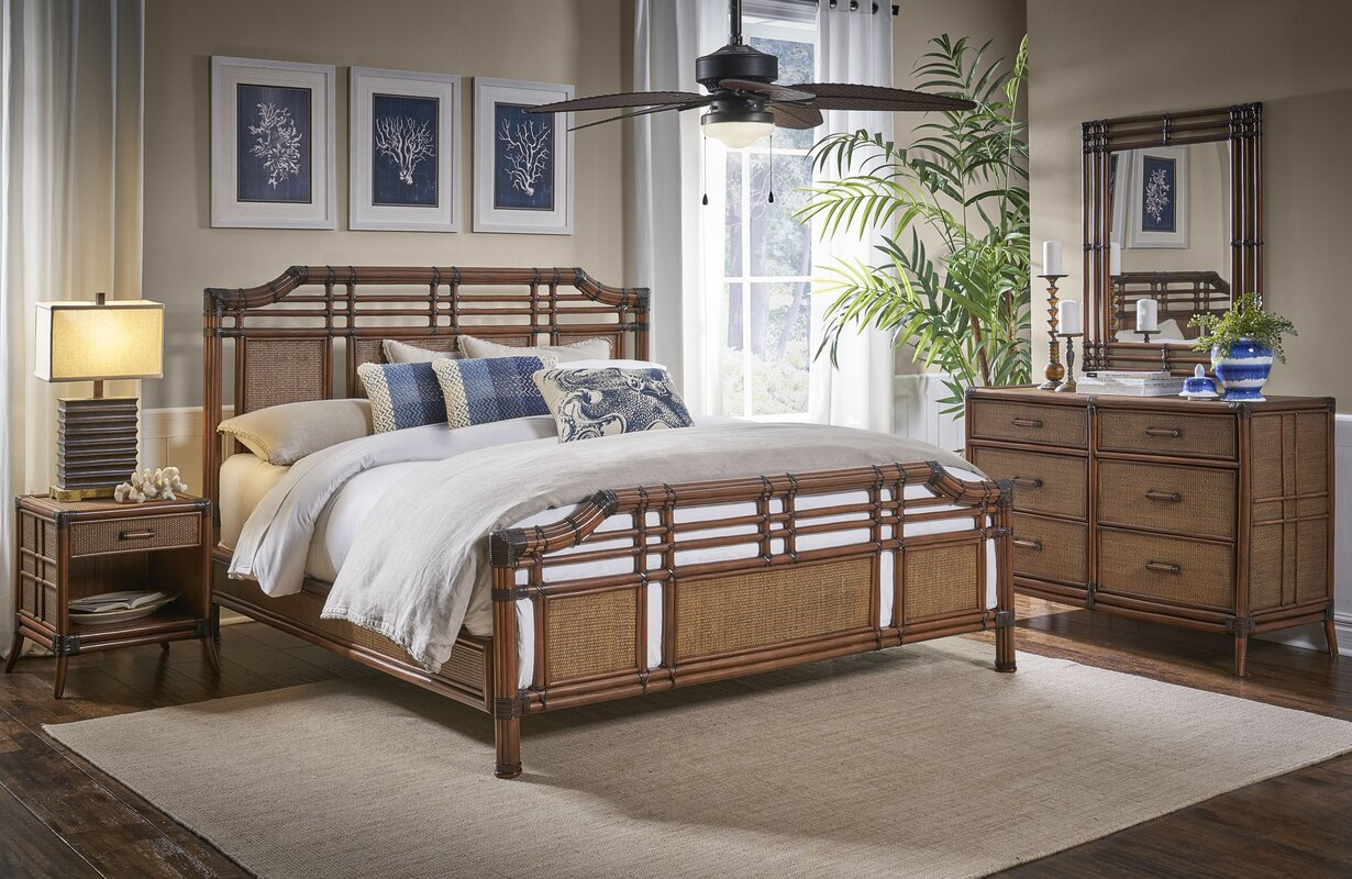 Bay Isle Home Walden Complete Panel Bedroom Set & Reviews | Wayfair