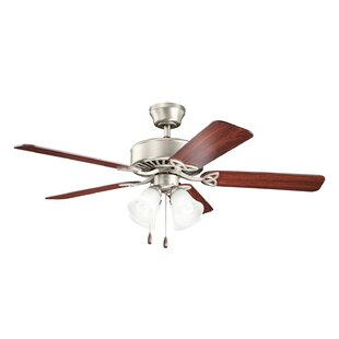 Polished nickel ceiling fans youll love wayfair save aloadofball Image collections