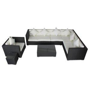 6-tlg. Sofa-Set Sommer Relaxation mit Kissen von IHP24
