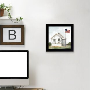 Rustic American Flag Wall Art Wayfair