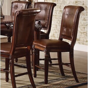 Wendel Counter Height Upholstered Dining Chair (Set of 2) by Astoria Grand