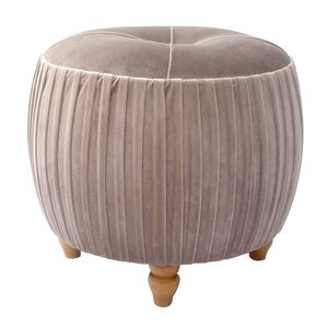 Caress Velvet Ottoman by Bungalow Rose