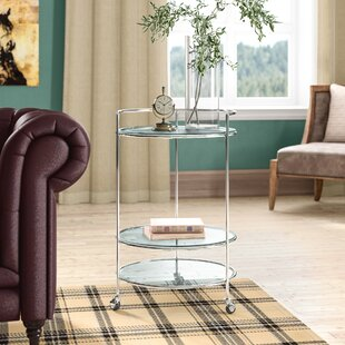 Clare High Rolling End Table
