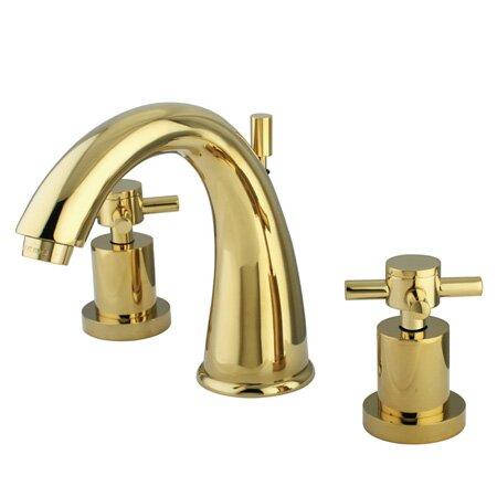 Bathroom Faucet Brass kingston brass concord double handle widespread bathroom faucet