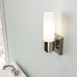 Non hard wired wall sconce wayfair adelaide 1 light led candle wall light aloadofball Gallery