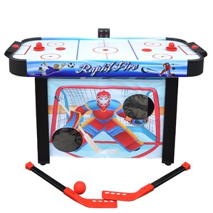 Rapid Fire Air Hockey Multi Game Table